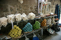 Soaps in a Mardin backstreet, southeastern Turkey