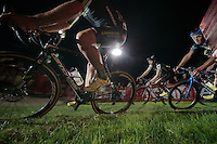 cornering in the thick grass of the Vegas course<br /> <br /> Cross Vegas 2014
