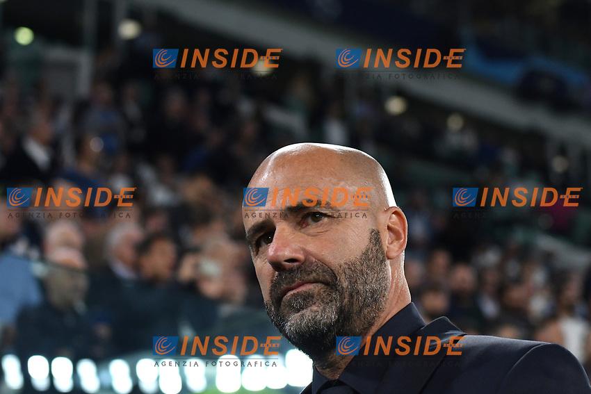 Peter Bosz coach of Leverkusen <br /> Torino 01/10/2019 Juventus Stadium <br /> Football Champions League 2019//2020 <br /> Group Stage Group D <br /> Juventus - Leverkusen <br /> Photo Andrea Staccioli / Insidefoto