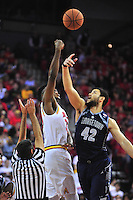 Tip off between Maryland and Georgetown at Xfinity Center in College Park, MD on Wednesday, November 17, 2015.  Alan P. Santos/DC Sports Box