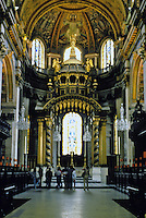 Sir Christopher Wren: St. Paul's Cathedral--high altar. 1675-1711. Photo '90.