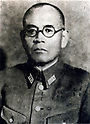 Yasuji Okamura (15 May 1884 - 2 September 1966) was a general of the Imperial Japanese Army and commander-in-chief of the China Expeditionary Army from November 1944 to the end of World War II. He fought in the Second Sino-Japanese War. After the War he was convicted of War Crimes in 1948 but received immediate protection from the then Nationalist Chinese leader Chiang Kai-shek. (Photo by Kingendai Photo Library/AFLO)