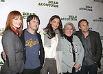 Judy Greer, Josh Hamilton, Katie Holmes, Jayne Houdyshell and Norbert Leo Butz attending the Meet & Greet the cast of the new Broadway Play 'Dead Accounts' on October 12, 2012 in New York City.