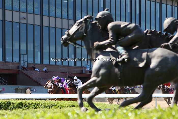May 2, 2020: Scenery during the Arkansas Derby Day at Oaklawn Racing Casino Resort in Hot Springs, Arkansas on May 2, 2020. Justin Manning/Eclipse Sportswire/CSM
