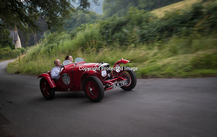 15/06/18<br /> <br /> More than one hundred competitors in vintage and classic cars and motorcycles, charge up an impossibly steep climb on Carr Bank, at the Oakamoor Hill Climb Revival as they re-create a hill climb originally known as the Cotton Run that was first held in the Staffordshire village in 1906.<br />  <br />  <br /> All Rights Reserved: F Stop Press Ltd. +44(0)1335 344240  www.fstoppress.com www.rkpphotography.co.uk