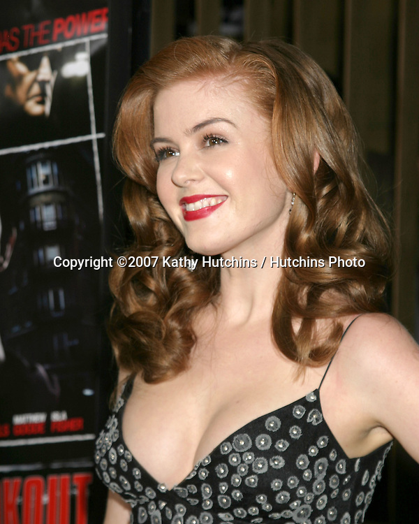 """Isla Fisher.""""The Lookout"""" LA Premiere.Egyptian Theater.Los Angeles, CA.March 20, 2007.©2007 Kathy Hutchins / Hutchins Photo..."""