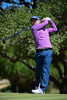 Brandon Grace (RSA) watches his tee shot on 2 during round 4 of the Valero Texas Open, AT&amp;T Oaks Course, TPC San Antonio, San Antonio, Texas, USA. 4/23/2017.<br /> Picture: Golffile | Ken Murray<br /> <br /> <br /> All photo usage must carry mandatory copyright credit (&copy; Golffile | Ken Murray)