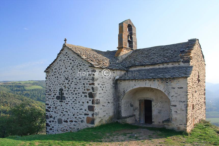 France, Cantal (15), Massiac, chapelle Sainte-Madeleine // France, Cantal, Massiac, chapel of Sainte-Madeleine