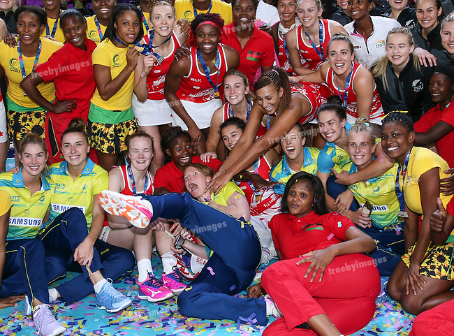 29/10/17 Fast5 2017<br /> Fast 5 Netball World Series<br /> Hisense Arena Melbourne<br /> Grand Final Jamaica v England<br /> <br /> <br /> <br /> <br /> <br /> <br /> Photo: Grant Treeby