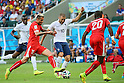 Karim Benzema (FRA), <br /> JUNE 20, 2014 - Football /Soccer : <br /> 2014 FIFA World Cup Brazil <br /> Group Match -Group E- <br /> between Switzerland 2-5 France <br /> at Arena Fonte Nova, Salvador, Brazil. <br /> (Photo by YUTAKA/AFLO SPORT) [1040]