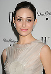 LOS ANGELES, CA - JANUARY 13: Emmy Rossum arrives at the W Magazine's celebration of the 69th Annual Golden Globe Awards at the Chateau Marmont Hotel on January 13, 2012 in Los Angeles, California.