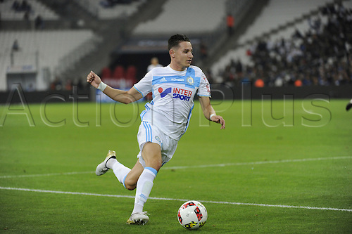 16.10.2016. Marseille, France. French league 1 football. Olympique Marseille versus Metz.  Thauvin (OM)