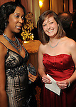 Youth ambassadors Danielle Nicole White and Abigail Cheney at the Winter Ball benefiting the Houston Gulf Coast/South Texas Chapter of the Crohn's & Colitis Foudation of America at the InterContinental Hotel Saturday Jan. 23,2010.(Dave Rossman/For the Chronicle)
