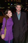 Robin Tunney arrives at a benefit in Manhattan on October 17, 2001..
