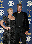 LOS ANGELES, CA. - September 20: Patricia Arquette and Thomas Jane pose in the press room at the 61st Primetime Emmy Awards held at the Nokia Theatre on September 20, 2009 in Los Angeles, California.