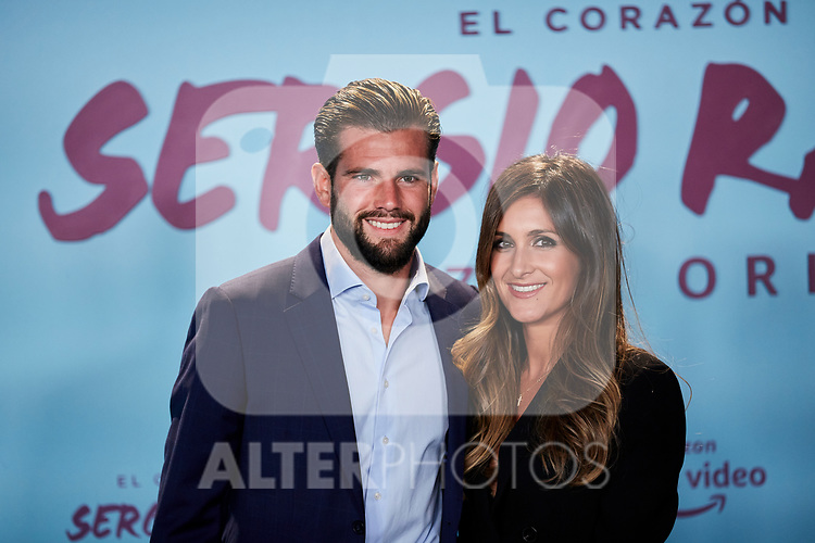 "Nacho Fernandez and Maria Cortes attends to ""El Corazon De Sergio Ramos"" premiere at Reina Sofia Museum in Madrid, Spain. September 10, 2019. (ALTERPHOTOS/A. Perez Meca)"