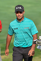 Shubhankar Sharma (IND) heads for 18th tee during round 2 of the World Golf Championships, Mexico, Club De Golf Chapultepec, Mexico City, Mexico. 3/2/2018.<br /> Picture: Golffile | Ken Murray<br /> <br /> <br /> All photo usage must carry mandatory copyright credit (&copy; Golffile | Ken Murray)