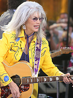 Emmylou Harris<br /> PERFORMING AT THE NBC CONCERT SERIES, ROCKEFELLER CENTER, <br /> NEW YORK CITY 07-22-2005<br /> Photo By John Barrett/PHOTOlink.net