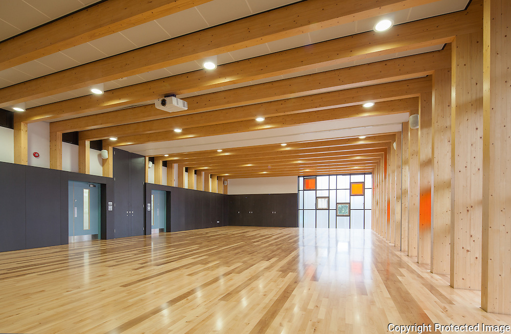 Multi Function Sports Hall At Magdalen College School