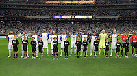 Houston, TX - Tuesday June 21, 2016: USA, Escort Kids prior to a Copa America Centenario semifinal match between United States (USA) and Argentina (ARG) at NRG Stadium.