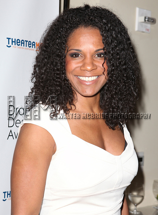 Audra McDonald.attending the 57th Annual Drama Desk Nominees Reception at Oceana Restaurant in New York City on 5/8/2012. © Walter McBride/WM Photography .