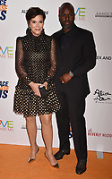 BEVERLY HILLS, CA - MAY 10: Kris Jenner (L) and Corey Gamble attend the 26th Annual Race to Erase MS Gala at The Beverly Hilton Hotel on May 10, 2019 in Beverly Hills, California.<br /> CAP/ROT<br /> &copy;ROT/Capital Pictures