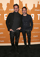 HOLLYWOOD, CA - DECEMBER 3: Lawrence Zarian, Gregory Zarian, at the Season 2 premiere of Counterpart at The Arclight Hollywood in Hollywood, California on December 3, 2018. <br /> CAP/MPIFS<br /> &copy;MPIFS/Capital Pictures