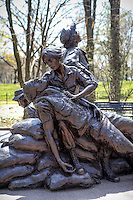 Nurse Memorial Vietnam Veterans Memorial Washington DC