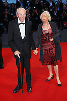 Heinz Lieven and Hertha Lieven attend the red carpet for the premiere of the movie 'Remember' during the 72nd Venice Film Festival at the Palazzo Del Cinema in Venice, Italy, September 10, 2015.<br /> UPDATE IMAGES PRESS/Stephen Richie