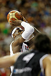 USA's LeBron James during friendly match.July 22,2012. (ALTERPHOTOS/Acero)