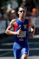 03 SEP 2006 - LAUSANNE, SUI - Richard Stannard (GBR) - Elite Mens World Triathlon Championships (PHOTO (C) NIGEL FARROW)