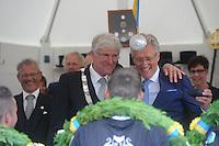 KAATSEN: FRANKERE: It Sjûkelân, 03-0802016, PC, Permanente Comissie, kaatsen, PC voorzitter Johannes Westra en CdK John Jorritsma, ©foto Martin de Jong