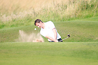 Ashley Chasters (ENG) on the 11th during the Home Internationals day 2 foursomes matches supported by Fairstone Financial Management Ltd. at Royal Portrush Golf Club, Portrush, Co.Antrim, Ireland.  13/08/2015.<br /> Picture: Golffile   Fran Caffrey<br /> <br /> <br /> All photo usage must carry mandatory copyright credit (© Golffile   Fran Caffrey)