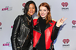 Caroline Hjelt and Aino Jawo of Icona Pop attend 103.5 KISS FM's Jingle Ball 2013, Presented by Jam Bluetooth Speakers, at United Center on December 9, 2013 in Chicago, IL.