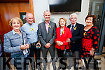 Sheila O'Connell (Castleisland), James Crean (Tralee), Pat Sullivan (Blennerville), Phil Curran (Cahersiveen), Con Curran (Cahersiveen) and Margaret Dennehy (Currow), pictured at the opening of the new 15 bed in-patient PalliatIve Care Unit at University Hospital Kerry Hospice on Friday last.