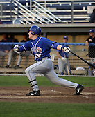 July 14, 2004:  Eric Nielsen of the Auburn Doubledays, Short-Season Single-A affiliate of the Toronto Blue Jays, during a game at Dwyer Stadium in Batavia, NY.  Photo by:  Mike Janes/Four Seam Images