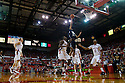 01 December 2010: Jackson State forward Grant Maxey (32) puts it for two against the Nebraska Cornhuskers in the second half at the Devaney Sports Center in Lincoln, Nebraska. Nebraska defeated Jackson State 76 to 57.