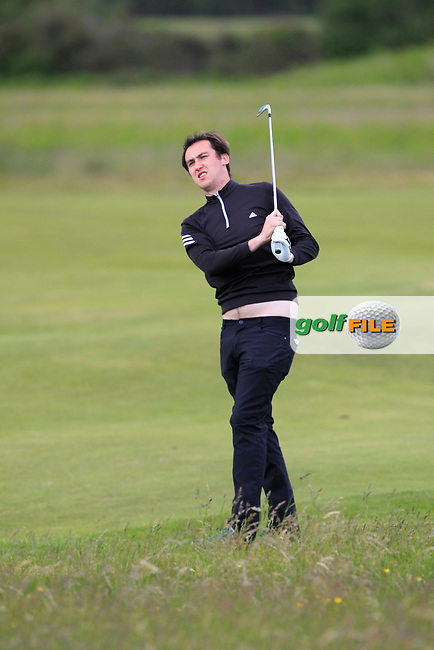 Colin Woodroofe (Dun Laoghraire) on the 2nd fairway during Round 3 of the East of Ireland Amateur Open Championship at Co. Louth Golf Club in Baltray on Sunday 4th June 2017.<br /> Photo: Golffile / Thos Caffrey.<br /> <br /> All photo usage must carry mandatory copyright credit     (&copy; Golffile | Thos Caffrey)