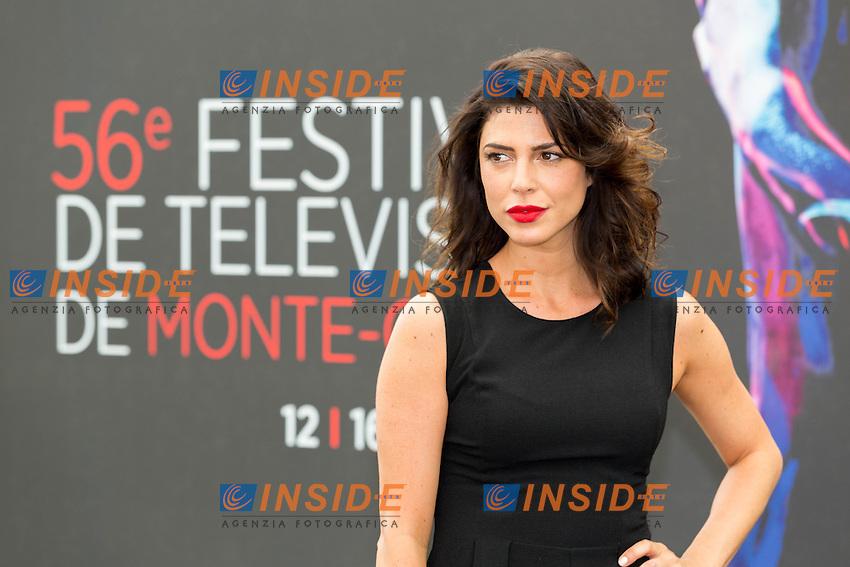 Cindy SAMPSON, Private Eyes<br /> <br /> Monaco Montecarlo 14-06-2016 <br /> 56th Monaco TV Festival - Photocall Opening Ceremony <br /> Foto Nicolas Gavet Panoramic / Insidefoto