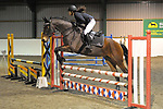 Class 8. Unaffiliated showjumping. Brook Farm Training Centre. Essex. UK. 25/11/2018. ~ MANDATORY Credit Garry Bowden/Sportinpictures - NO UNAUTHORISED USE - 07837 394578