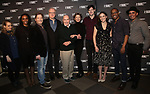 Jenni Barber, Chinasa Ogbuagu, Michael Hayden, Tracy Letts, director Jack O'Brien, Annette Bening, Benjamin Walker, Francesca Carpanini, Hampton Fluker and Nehal Joshi attend the 'All My Sons' cast photo call at the American Airlines Theatre  on March 8, 2019 in New York City.