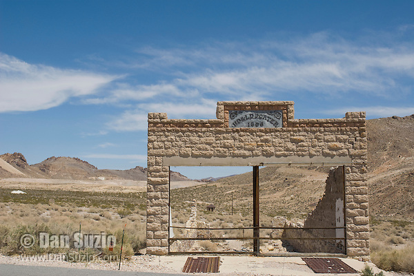 Porter Brothers general store, built in 1906, Rhyolite ghost town, Nevada