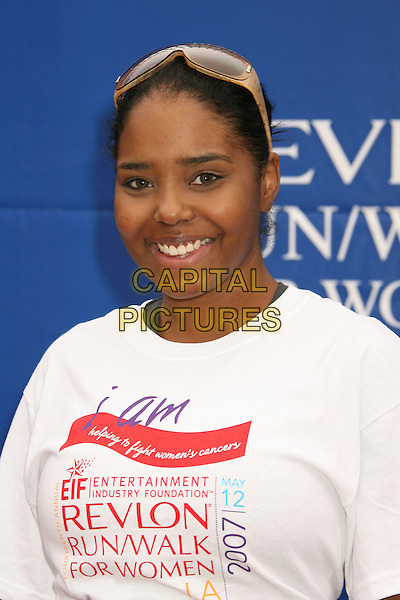 SHAR JACKSON.14th Annual Entertainment Industry Foundation Revlon Run/Walk For Women held at The Los Angeles Memorial Coliseum, Los Angeles, California, USA,.12 May 2007..half length.CAP/ADM/RE.©Russ Elliot/AdMedia/Capital Pictures.