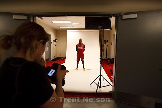 Trent Nelson  |  The Salt Lake Tribune.Sandy - A center piece about RSL striker Robbie Findley. Is this his breakout year into stardom in the soccer world, Tuesday, March 23, 2010. melissa majchrzak