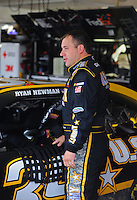 Nov. 14, 2009; Avondale, AZ, USA; NASCAR Sprint Cup Series driver Ryan Newman during practice for the Checker O'Reilly Auto Parts 500 at Phoenix International Raceway. Mandatory Credit: Mark J. Rebilas-