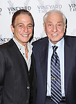 Tony Danza and Garry Marshall attends the Off-Broadway opening Night Performance of 'Billy & Ray' at the Vineyard Theatre on October 20, 2014 in New York City.