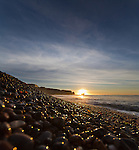Sunrise at Freshwater Bay on the Isle of Wight