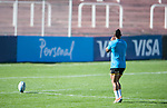 08/24/2018, Malvinas Argentinas Stadium, Mendoza, Argentina. Captains Run day.Elton Jantjies practice on the pitch. Maximiliano Aceiton/Trysportimages