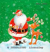 GIORDANO, CHRISTMAS SANTA, SNOWMAN, WEIHNACHTSMÄNNER, SCHNEEMÄNNER, PAPÁ NOEL, MUÑECOS DE NIEVE, paintings+++++,USGI2315,#X#