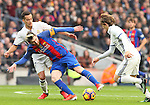 03.12.2016 Barcelona. La Liga. Picture show Leo Messi in action during game between Fc Barcelona against Real Madrid at Camp Nou